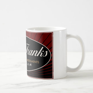 M.J. Franks Guitars • Official Coffee Mug