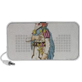M.John Braham  the character of Orlando, 1802 Mini Speakers