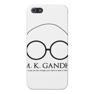 M. K. Gandhi - Be the Change iPhone 5/5S Cover