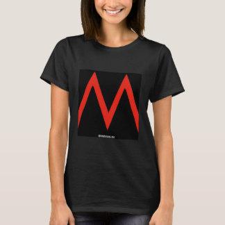 M - Logo Tee Womens Black BASIC