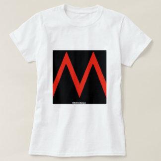 M - Logo Tee Womens White BASIC