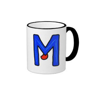 M Monster Coffee Mugs