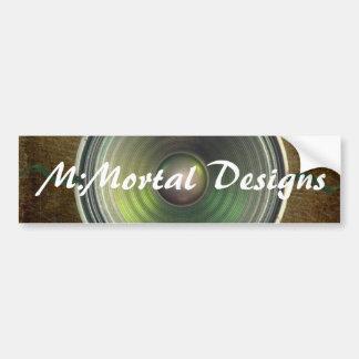 M:Mortal Speaker Bumper Sticker