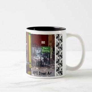 m NYC Street Art Mug