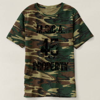 M.S.C.A. Property 45 Cammo T-Shirt