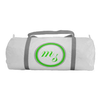 M Sanders Fitness Bag Gym Duffel Bag