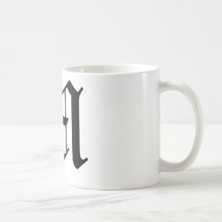 M-text Old English Coffee Mugs