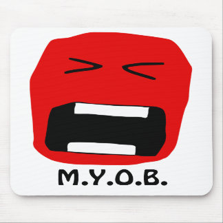 M.Y.O.B. Mouse Mat