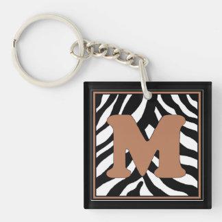M-Zebra Keychain