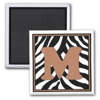 M-Zebra Magnet