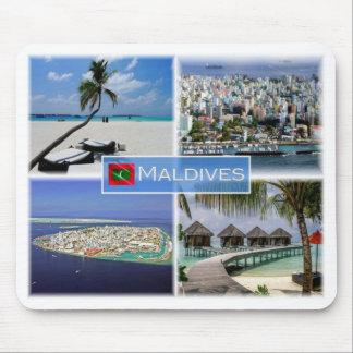 MA Maldives - Malè - Mouse Pad