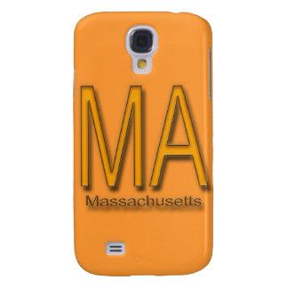 MA Massachusetts orange Samsung Galaxy S4 Covers