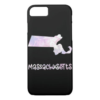 MA Massachusetts State Iridescent Opalescent Pearl iPhone 8/7 Case