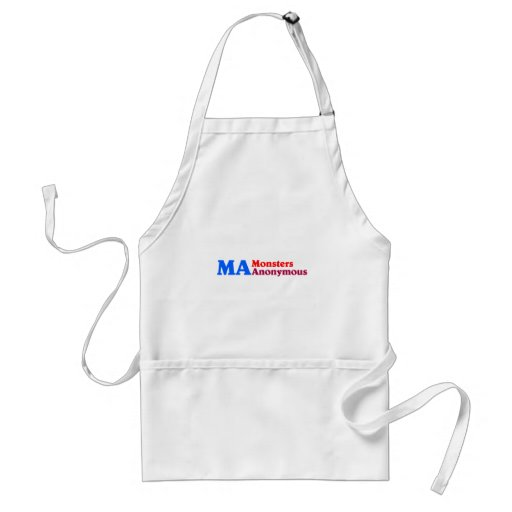 MA of monster Anonymous Apron