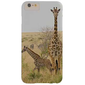 Maasai Giraffes roaming across the Maasai Mara Barely There iPhone 6 Plus Case