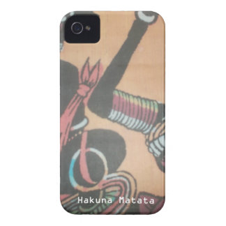 MAASAI Hakuna Matata. iPhone 4 Covers