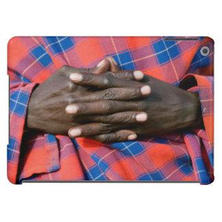 Maasai Man's Hands, Ngorongoro Conservation iPad Air Cover