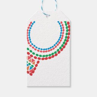 Maasai Necklace Gift Tags