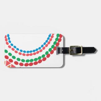 Maasai Necklace Luggage Tag