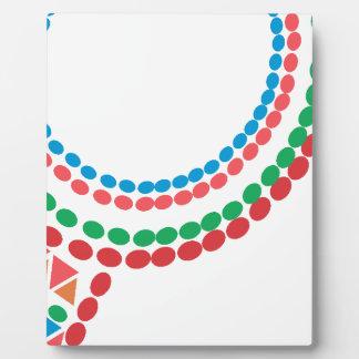 Maasai Necklace Plaque