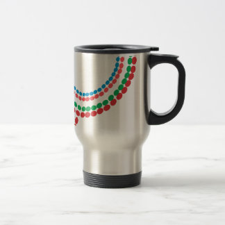 Maasai Necklace Travel Mug