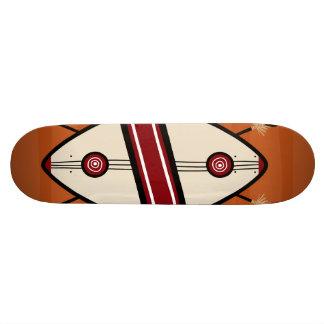 Maasai Shield 21.3 Cm Mini Skateboard Deck