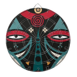 maasai warrior dartboard