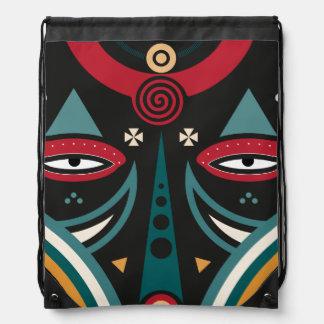 maasai warrior drawstring bag