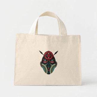 maasai warrior mini tote bag