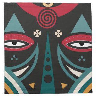 maasai warrior napkin