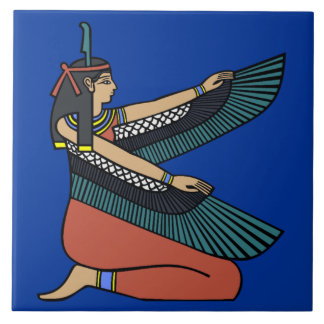 Ma'at Egyptian Goddess Decorative Tile