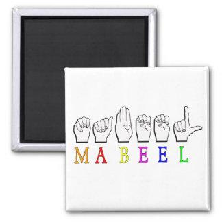 MABEEL MAGNET