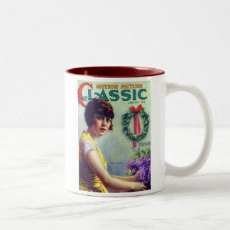 Mabel Normand Christmas Mug