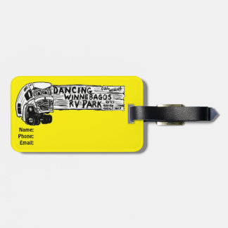 Mabel the Mercury from Ann Charles Luggage Tag