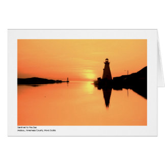 Mabou Harbour Light Card