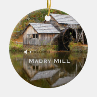 Mabry Mill, Blue Ridge Parkway Landscape Ornament