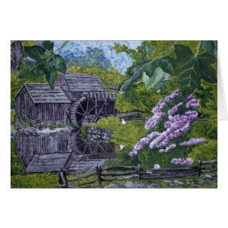 Mabry Mill Card