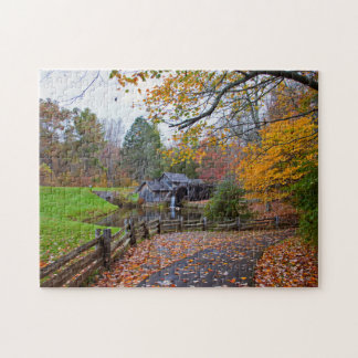 Mabry Mill in Autumn Puzzles