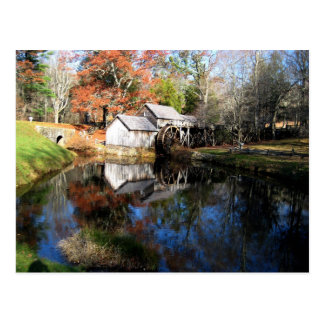 Mabry Mill Postcard