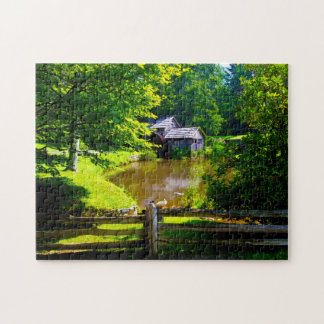 Mabry Mills Virginia. Jigsaw Puzzle