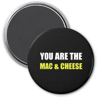 Mac And Cheese 7.5 Cm Round Magnet