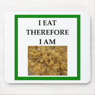mac and cheese mouse pad