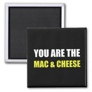 Mac And Cheese Square Magnet