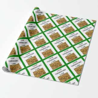 mac and cheese wrapping paper
