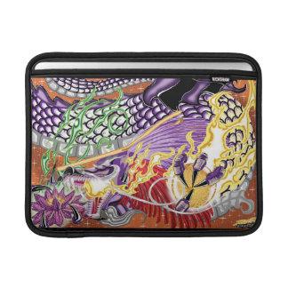 """Mac Book Air Dragon Of The Lotus 13"""" Rickshaw Slee MacBook Air Sleeve"""