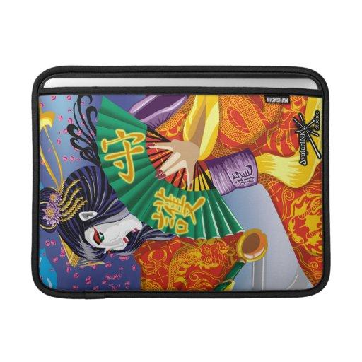 """Mac Book Air Geisha 13"""" Rickshaw Sleeve MacBook Air Sleeves"""