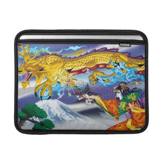 Mac Book Air Geisha Of The Dragons 13 Rickshaw Sl MacBook Air Sleeves