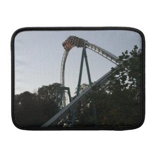 Mac Book Air Roller Coaster Sleeve - Busch Gardens MacBook Sleeves