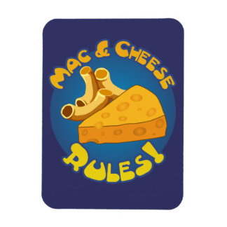 Mac Cheese Rules Magnet