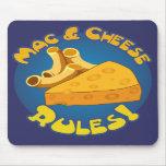 Mac & Cheese Rules Mousepad